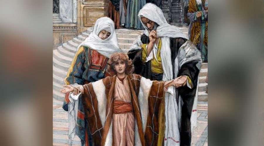 Jesús en el Templo / Crédito: Wikipedia - James Tissot (Dominio público)